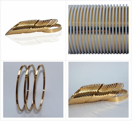 镀钯镍金平槽滑环环片